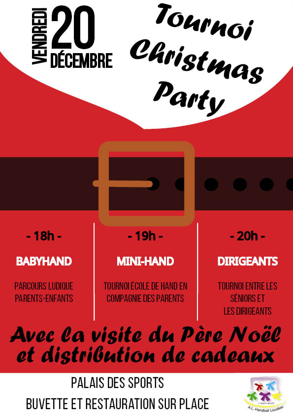 Tournoi Christmas Party