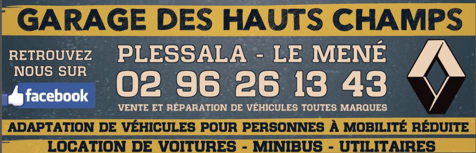 Sponsors allhb for Garage renault plessala